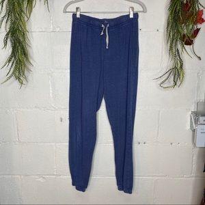 Abbot & Main Venice Beach Blue Sweatpants Size M